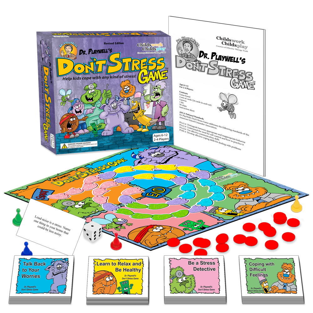 Dr. PlayWell's The Don't Stress Game