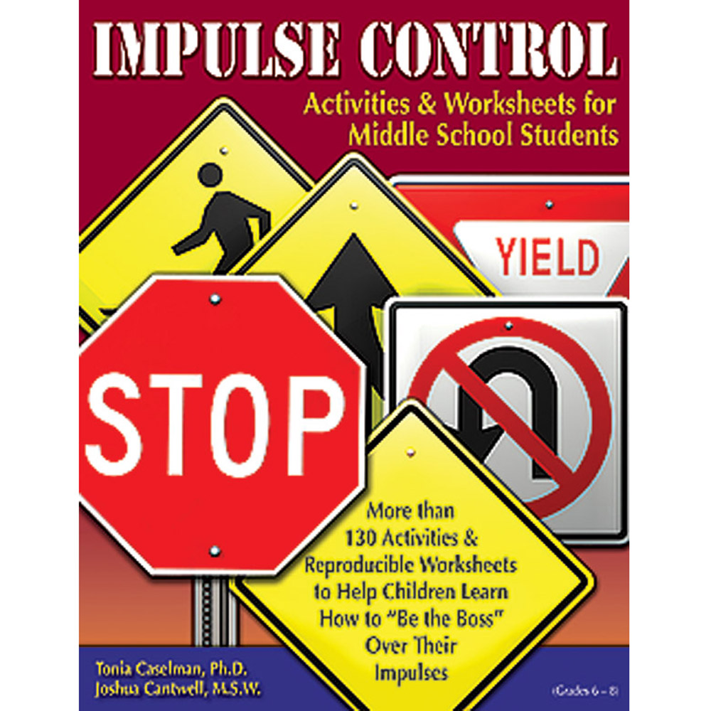 Impulse Control Book Middle School with CD