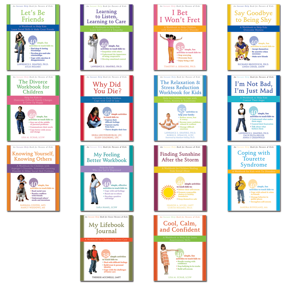 Instant Help Books for Children Set of 14