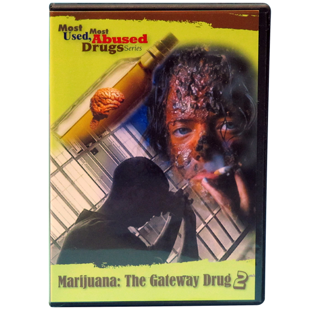 Most Used, Most Abused Drugs: Marijuana The Gateway Drug DVD