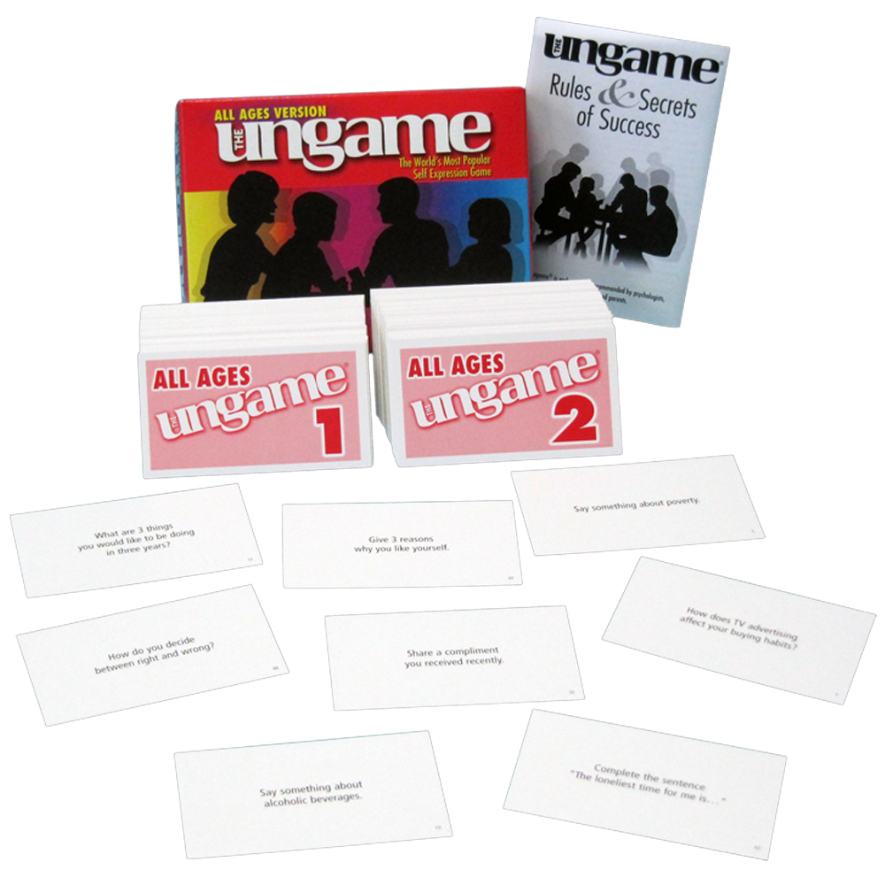 The Ungame Cards   All Ages