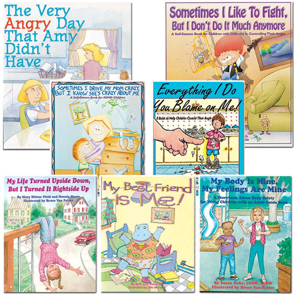 Bibliotherapy Starter Set of 7 Books