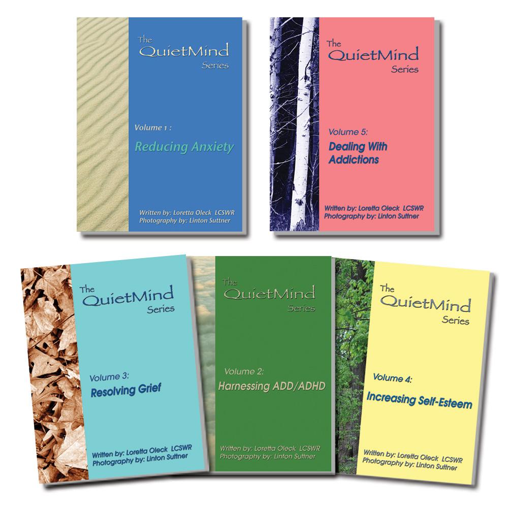 The QuietMind 5 Book Series