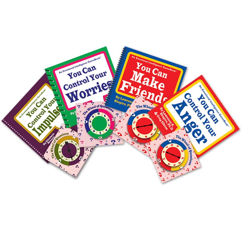 Spin & Learn! Game Books   Set of 4