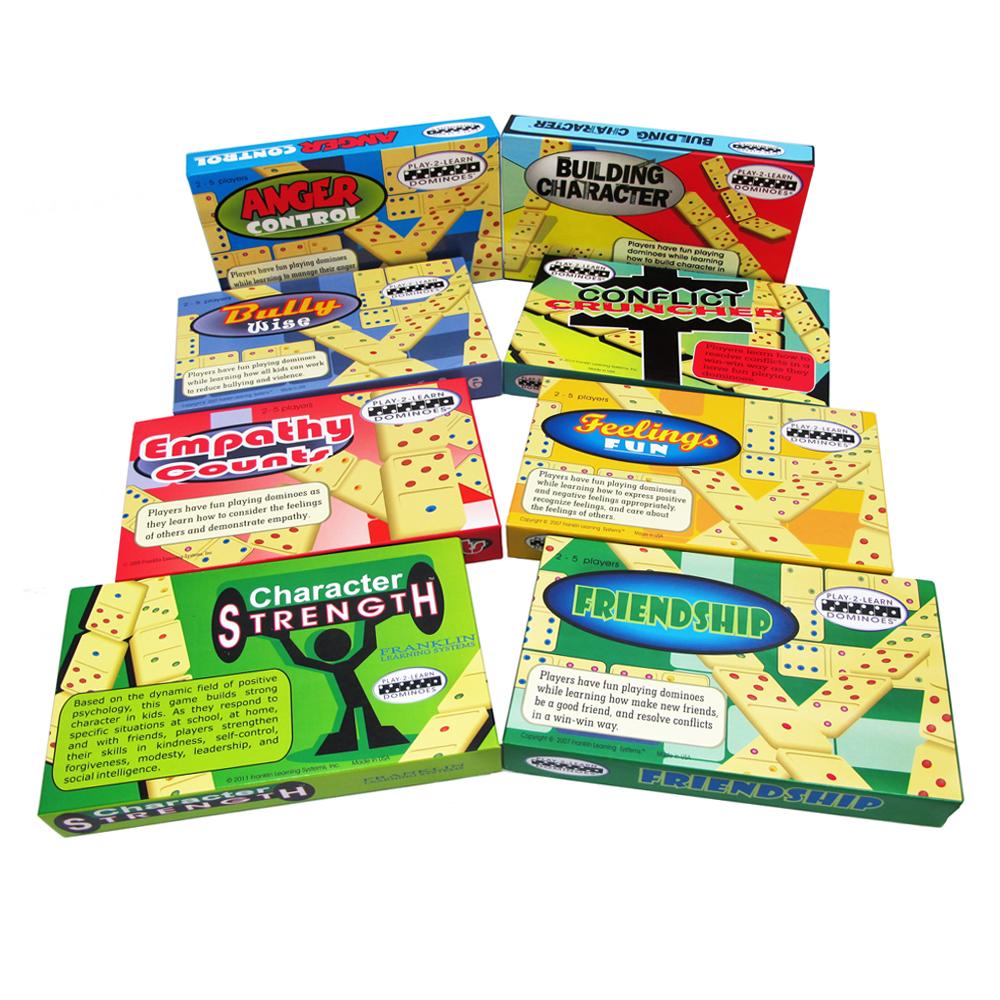 Play 2 Learn Dominoes, Set of 8