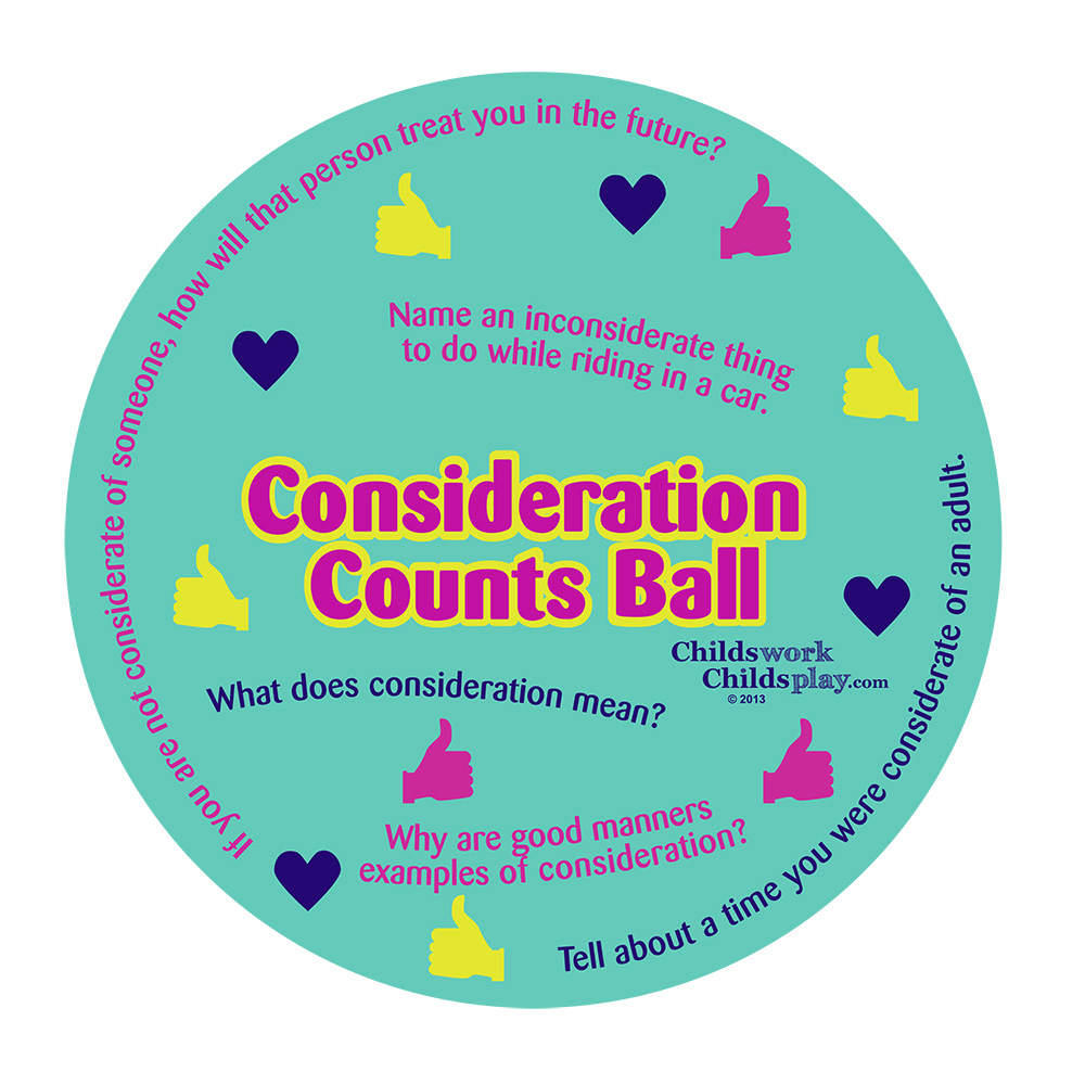 Consideration Counts Ball