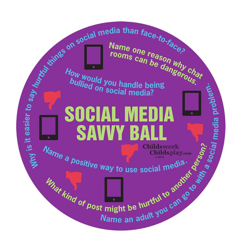 Social Media Savvy Ball