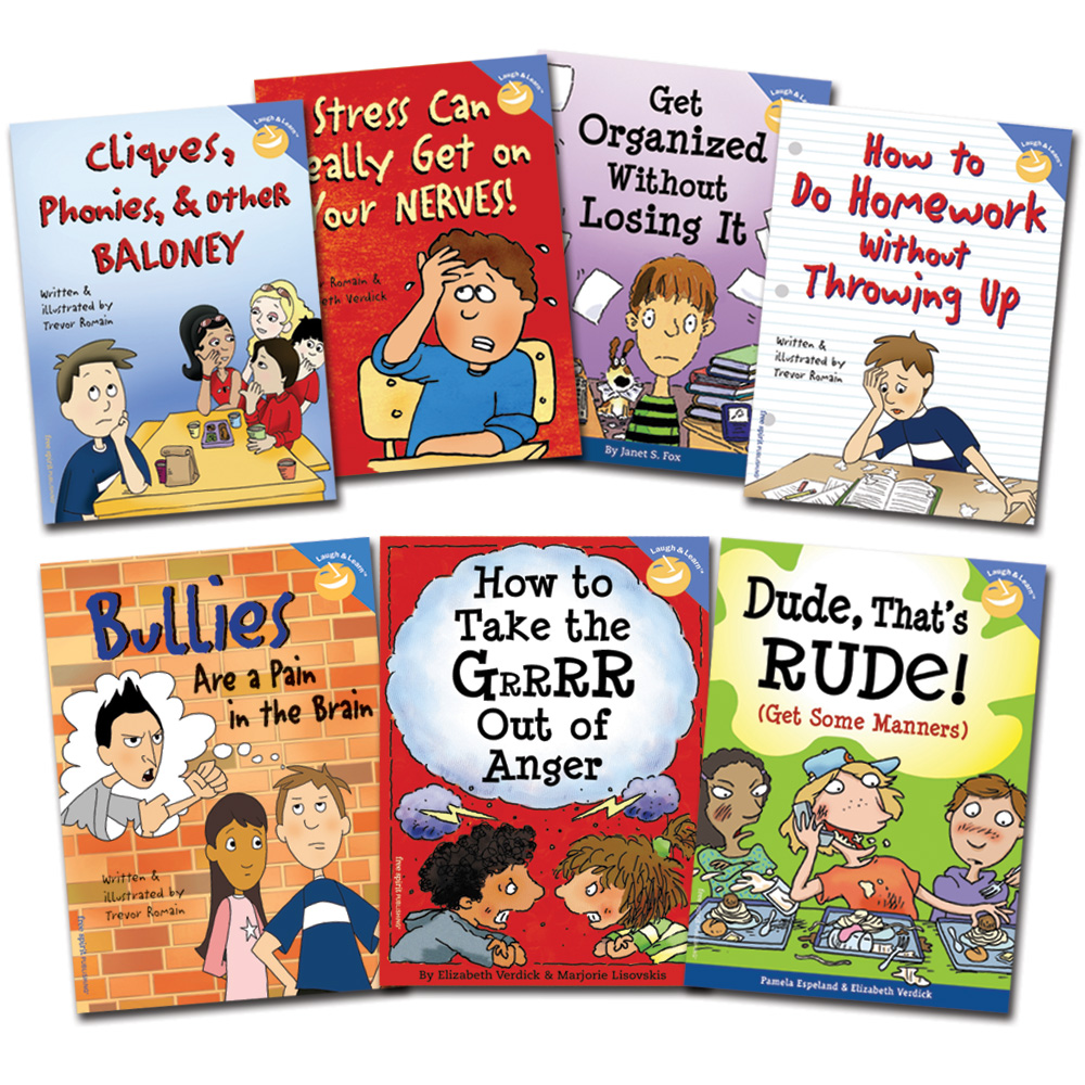 KT Laugh & Learn Set of 7 Books