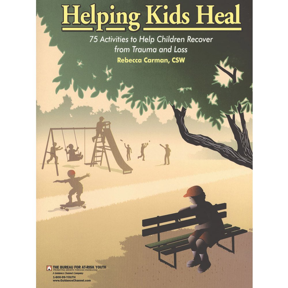 Helping Kids Heal Book with CD