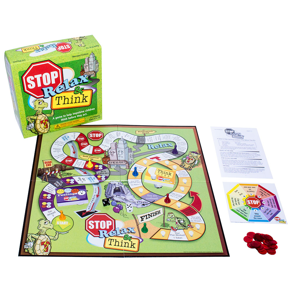 Stop, Relax & Think Board Game