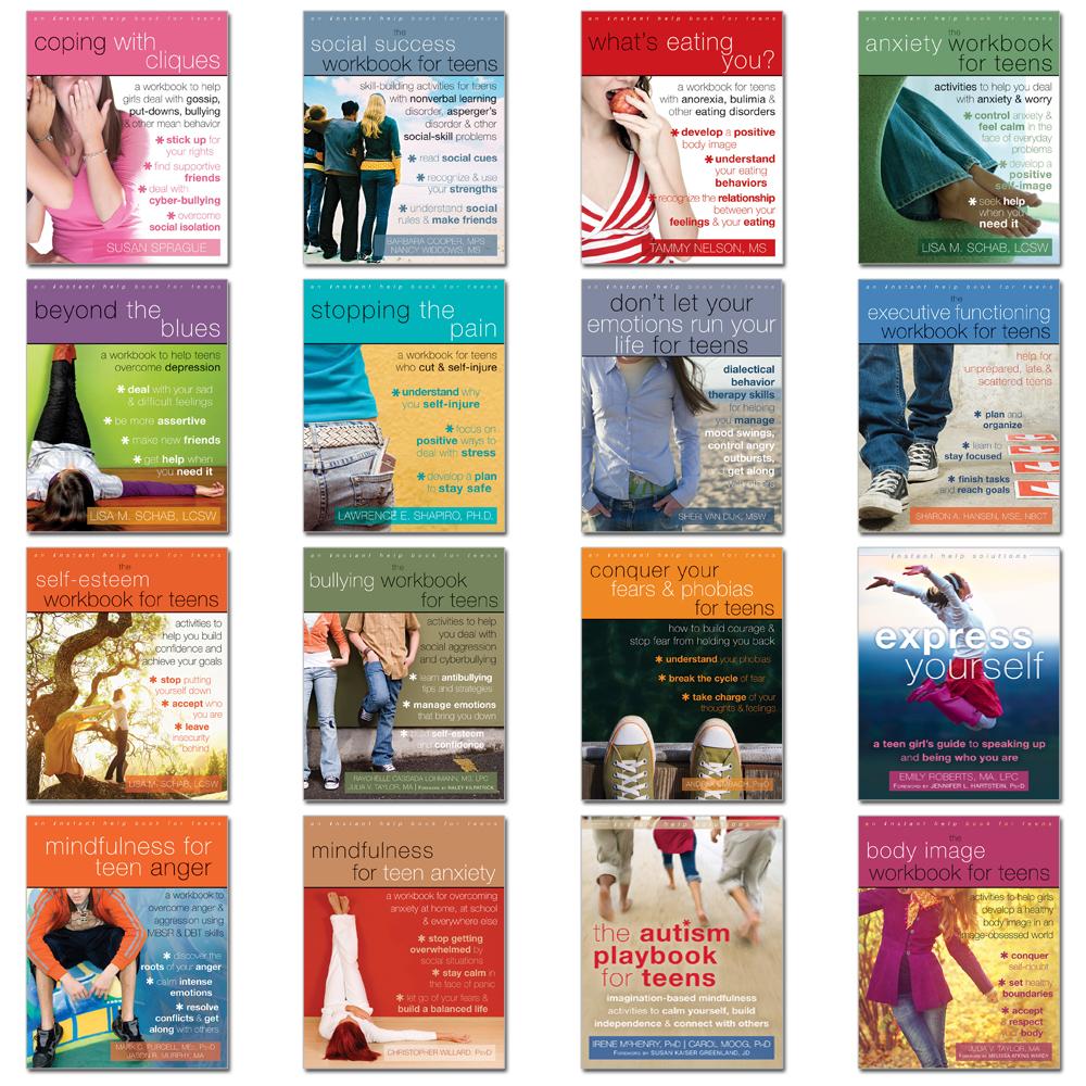 Emotional Intelligence Set of 16 Workbooks