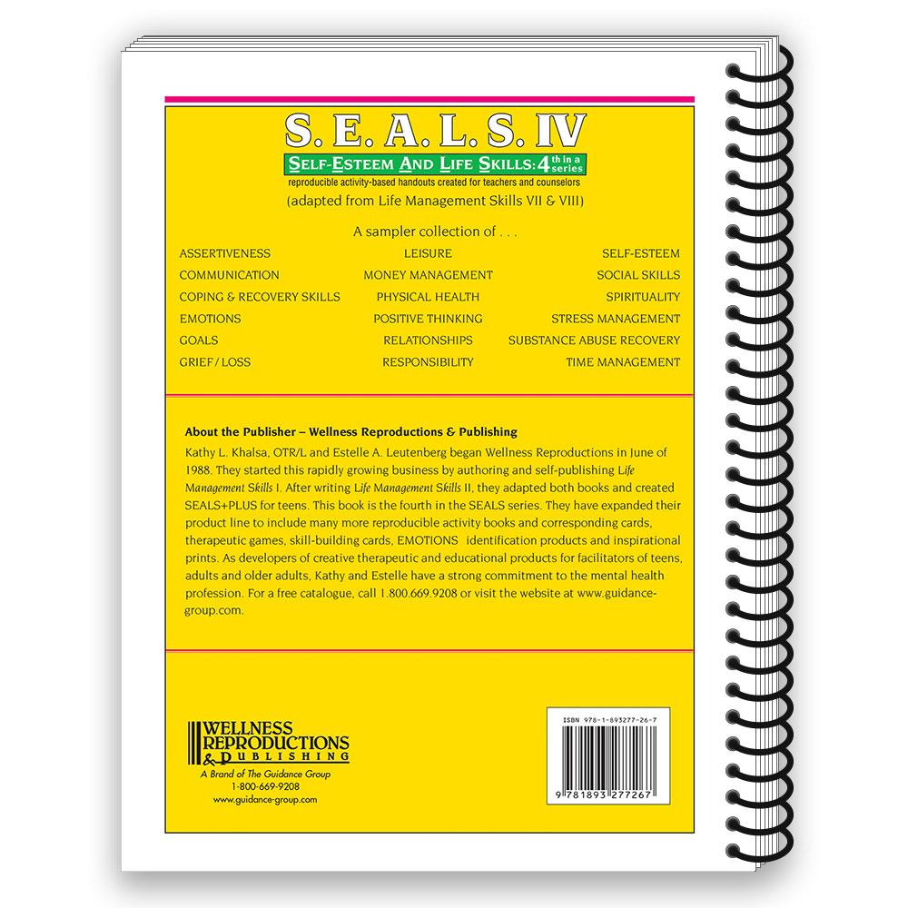 S.E.A.L.S. IV (Self Esteem and Life Skills) Book