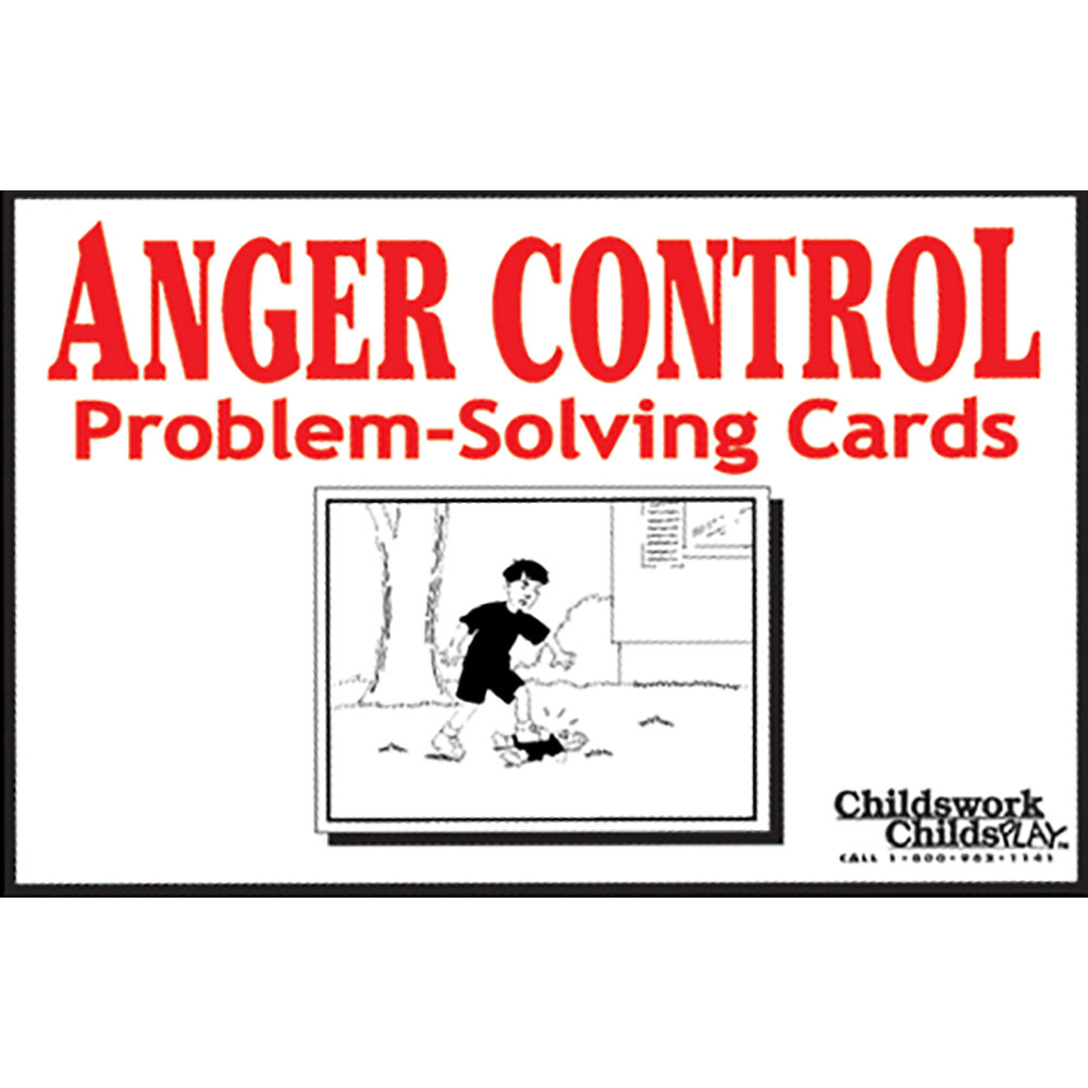 Anger Control Problem Solving Cards