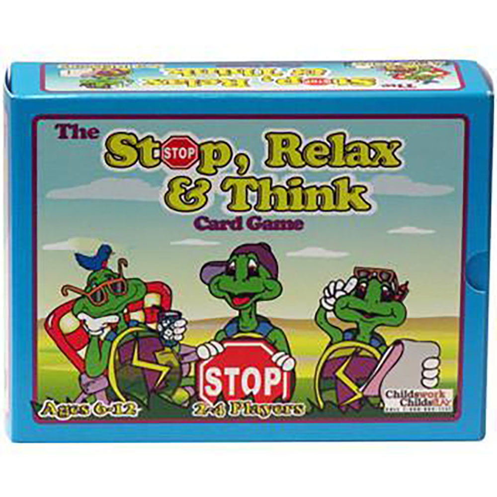 The Stop, Relax & Think Card Game