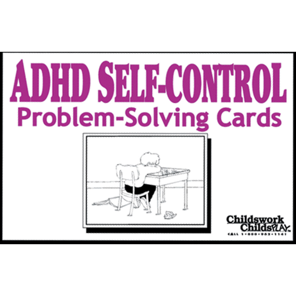 Free Worksheets conflict resolution for teenagers worksheets : ADHD Self-Control Problem-Solving Cards:Impulse control tips