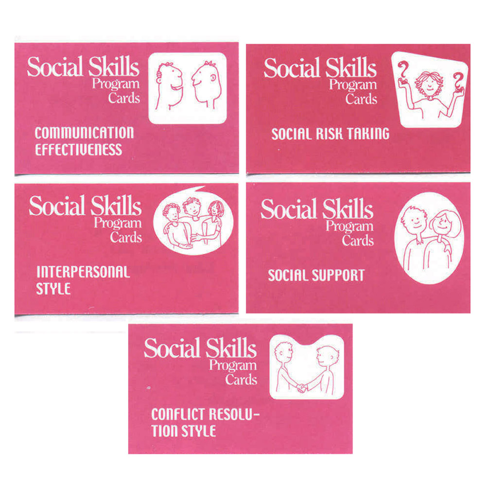 The Social Skills Program Cards
