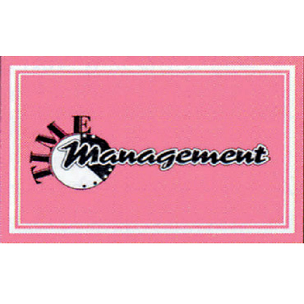 Time Management Cards