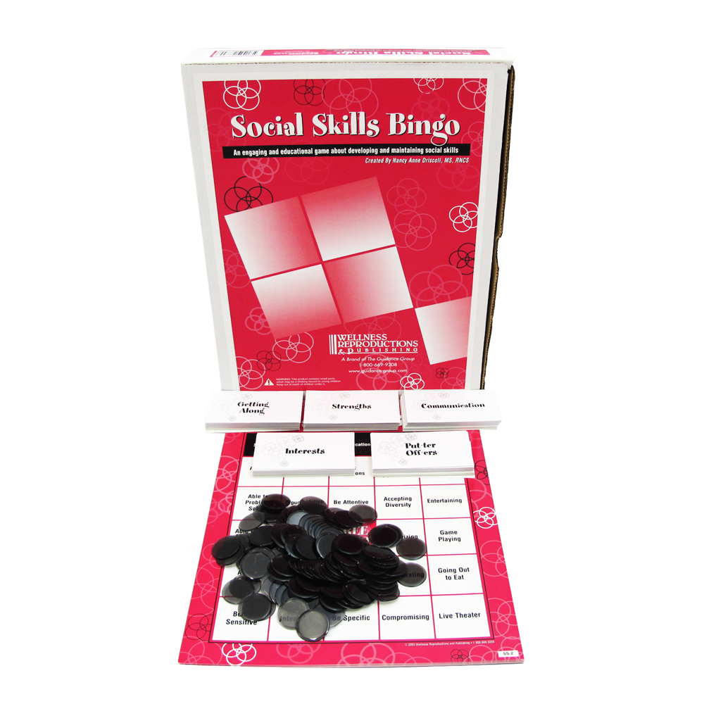 Social Skills BINGO! Game for Adults