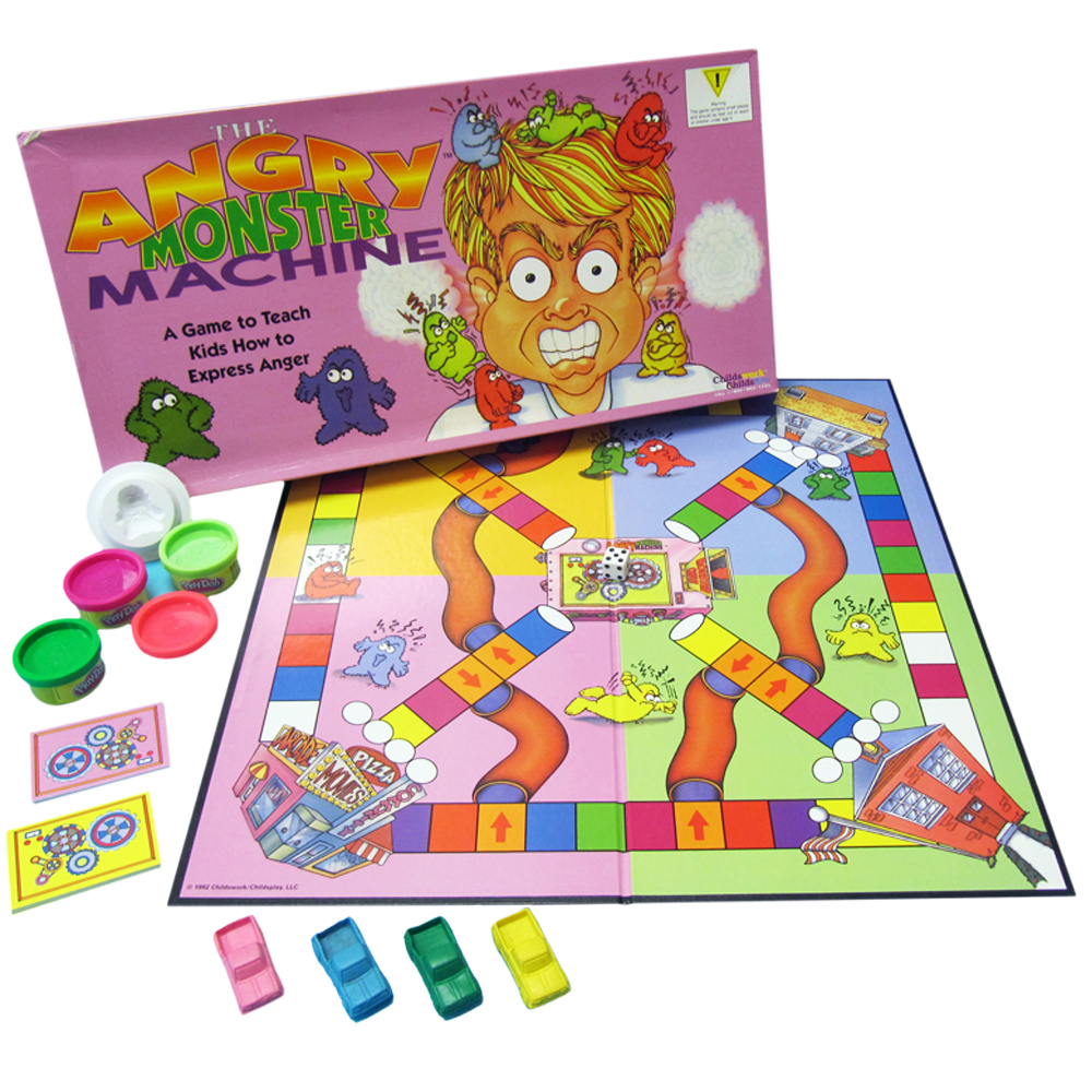 The Angry Monster Machine Board Game