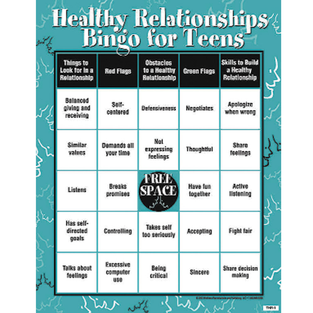 Healthy Relationships|Red Flags|Green Flags|Teens|Skills ...