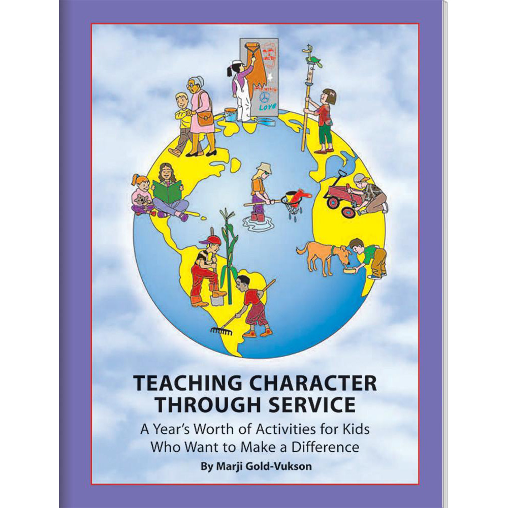 Teaching Character Through Service Book
