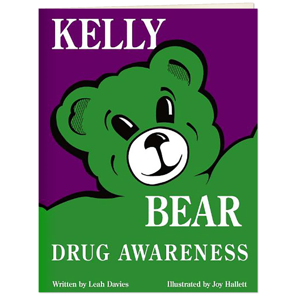 Kelly Bear Drug Awareness Book
