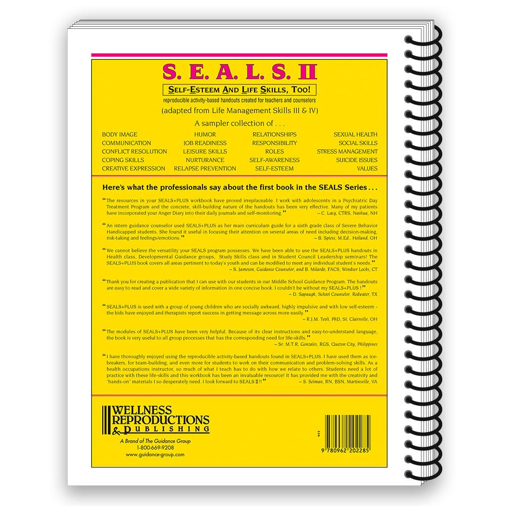 S.E.A.L.S. II (Self Esteem and Life Skills) Book