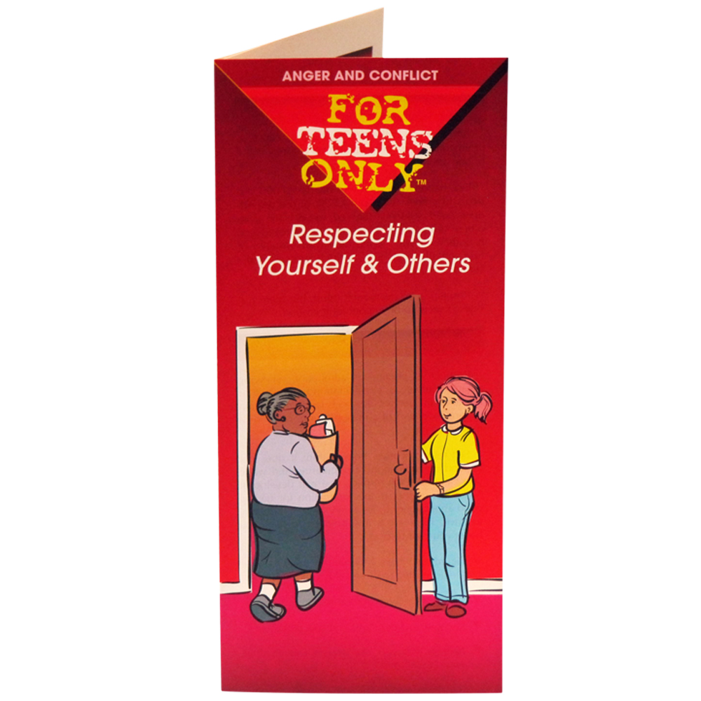 For Teens Only Pamphlet: Respecting Yourself and Others 25 pack