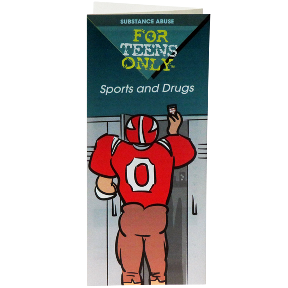 For Teens Only Pamphlet: Sports and Drugs 25 pack