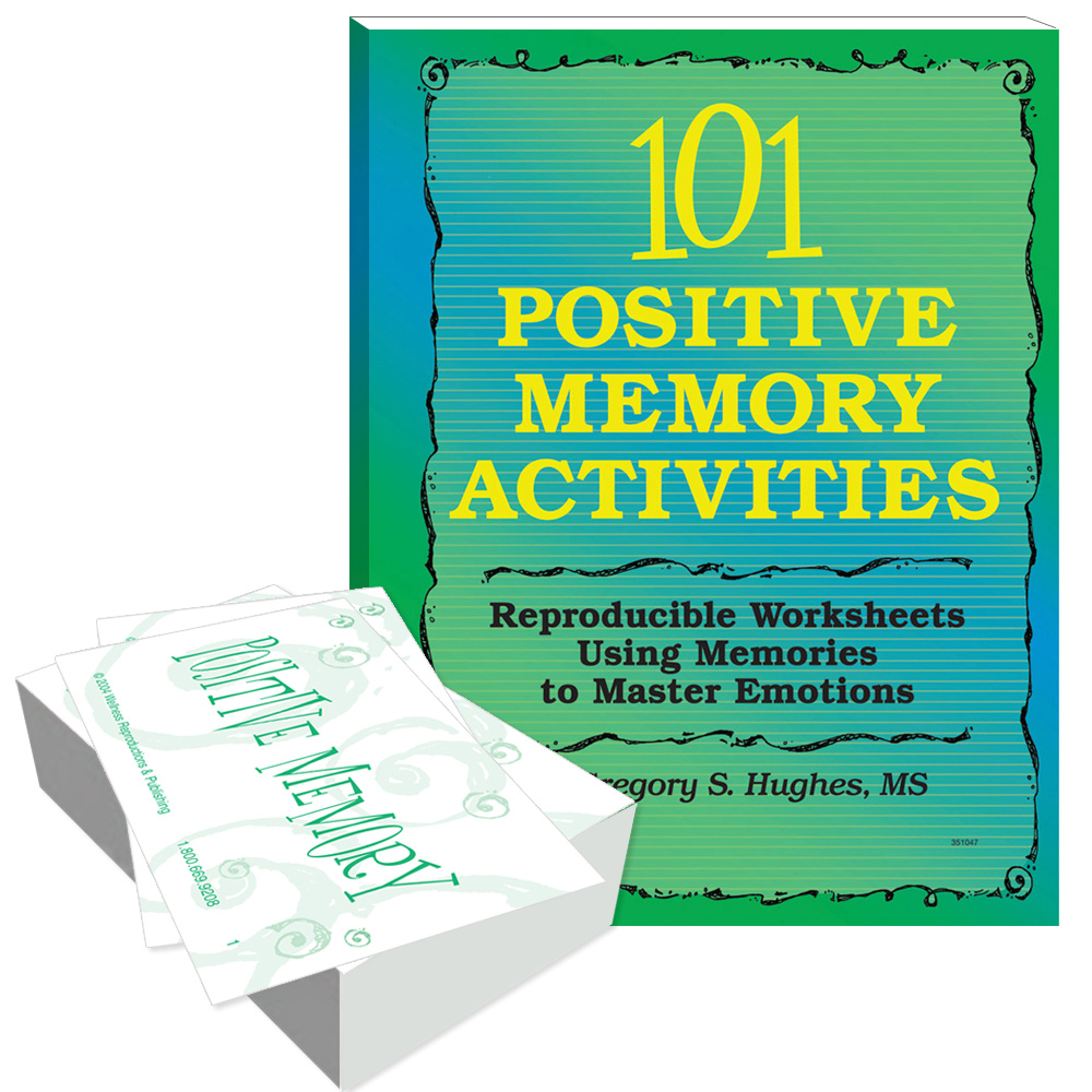 101 Positive Memory Activities: Using Memories to Master Emotions Book and Cards