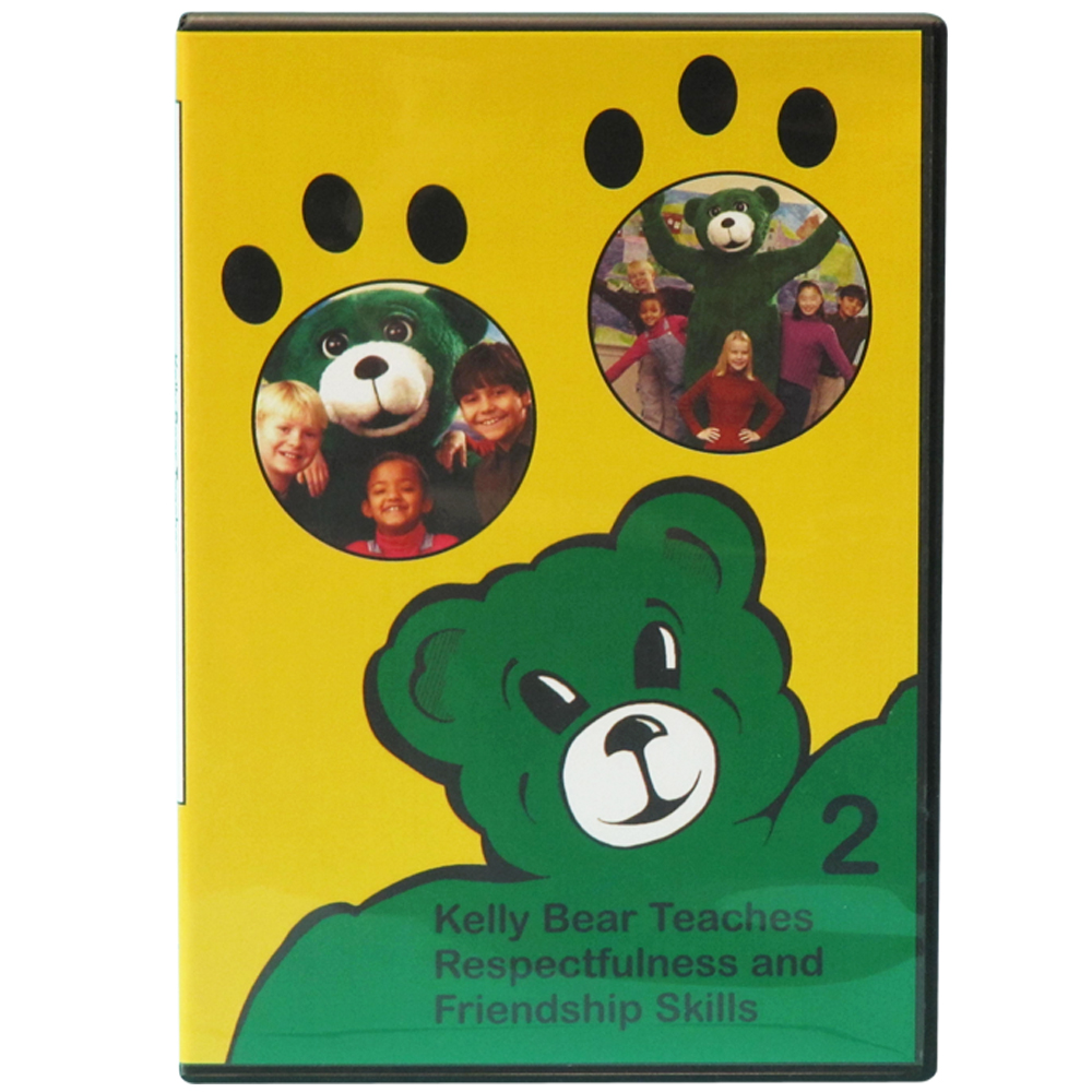 Kelly Bear Teaches About Respectfulness and Friendship Skill DVD