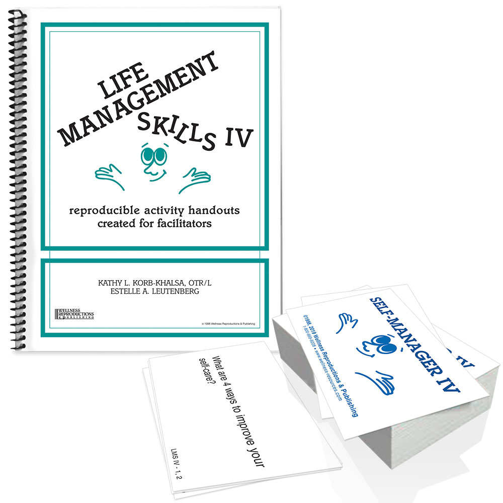 Life Management Skills IV Book & Cards Set