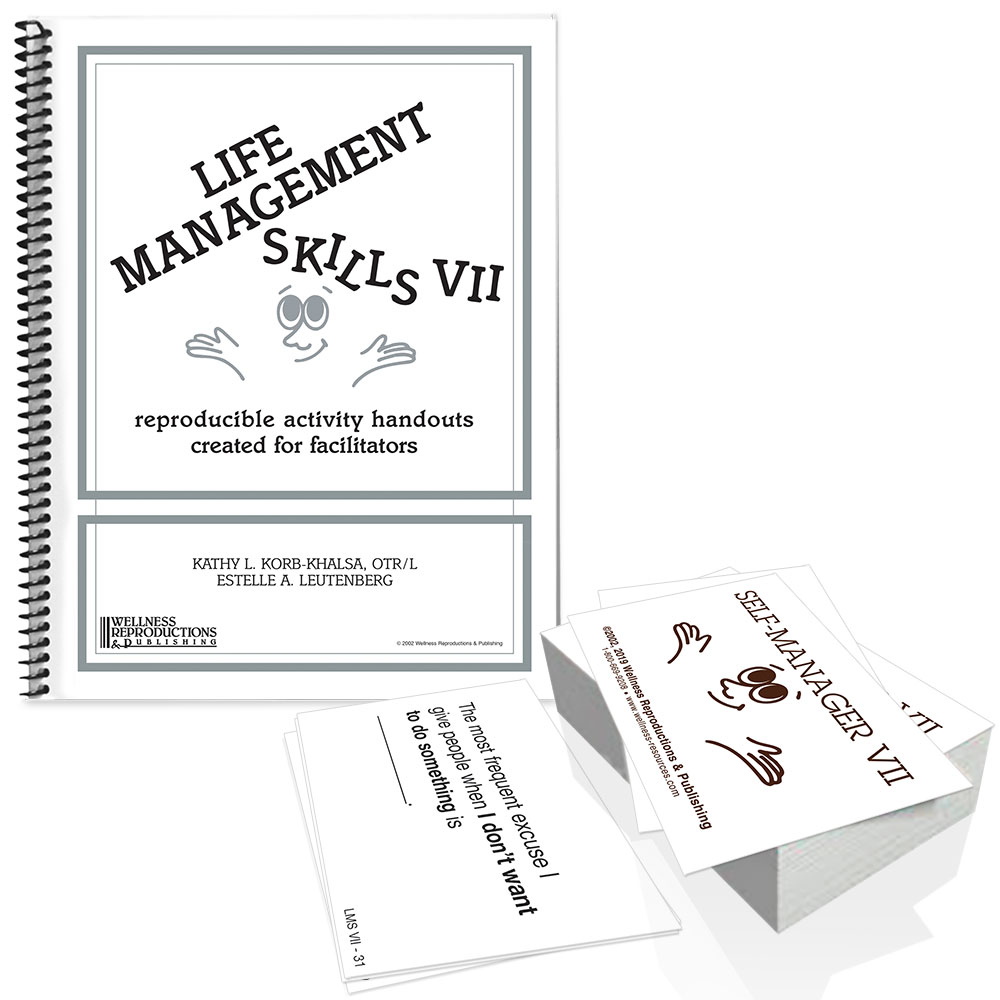 Life Management Skills VII Book & Cards Set