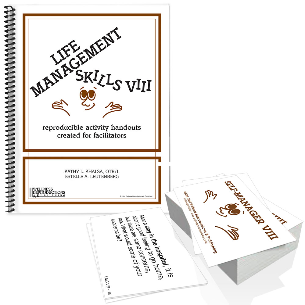 Life Management Skills VIII Book & Cards Set