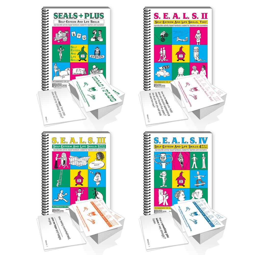 S.E.A.L.S. Books & Cards Set