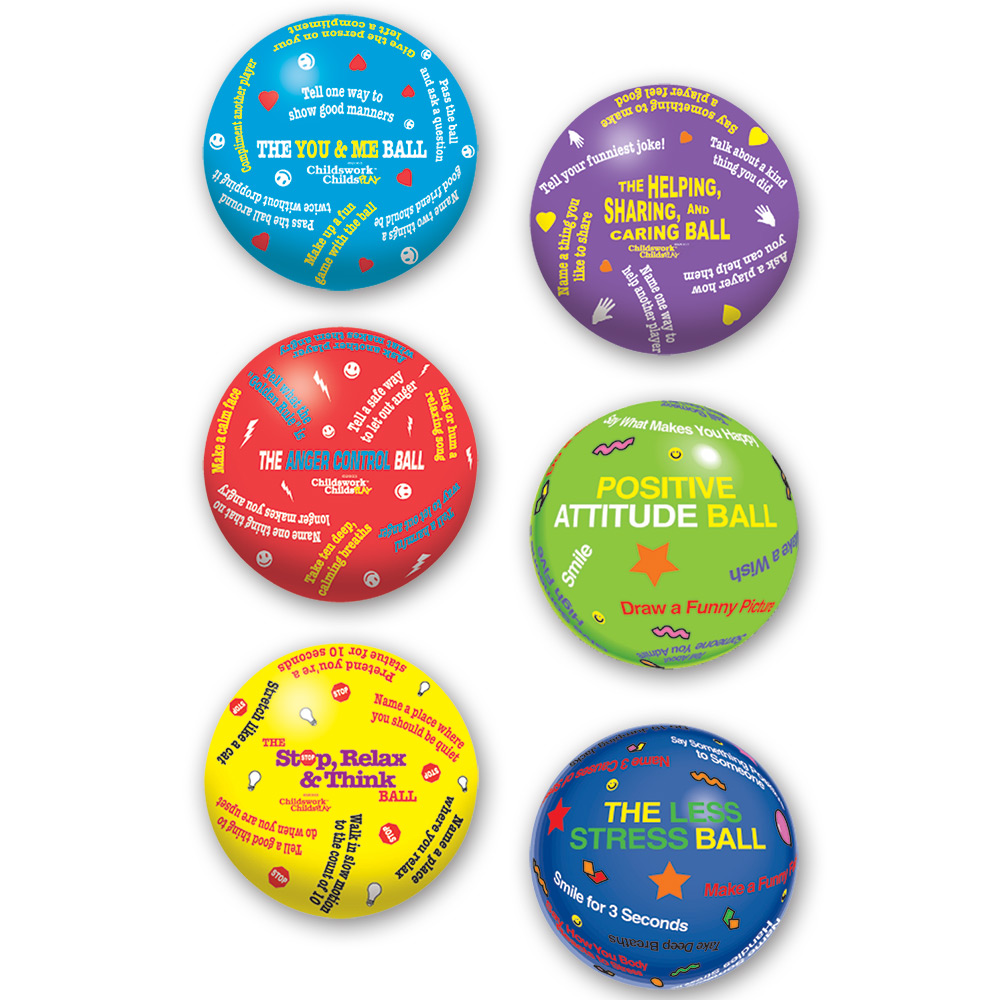 Children's Counseling Balls Set