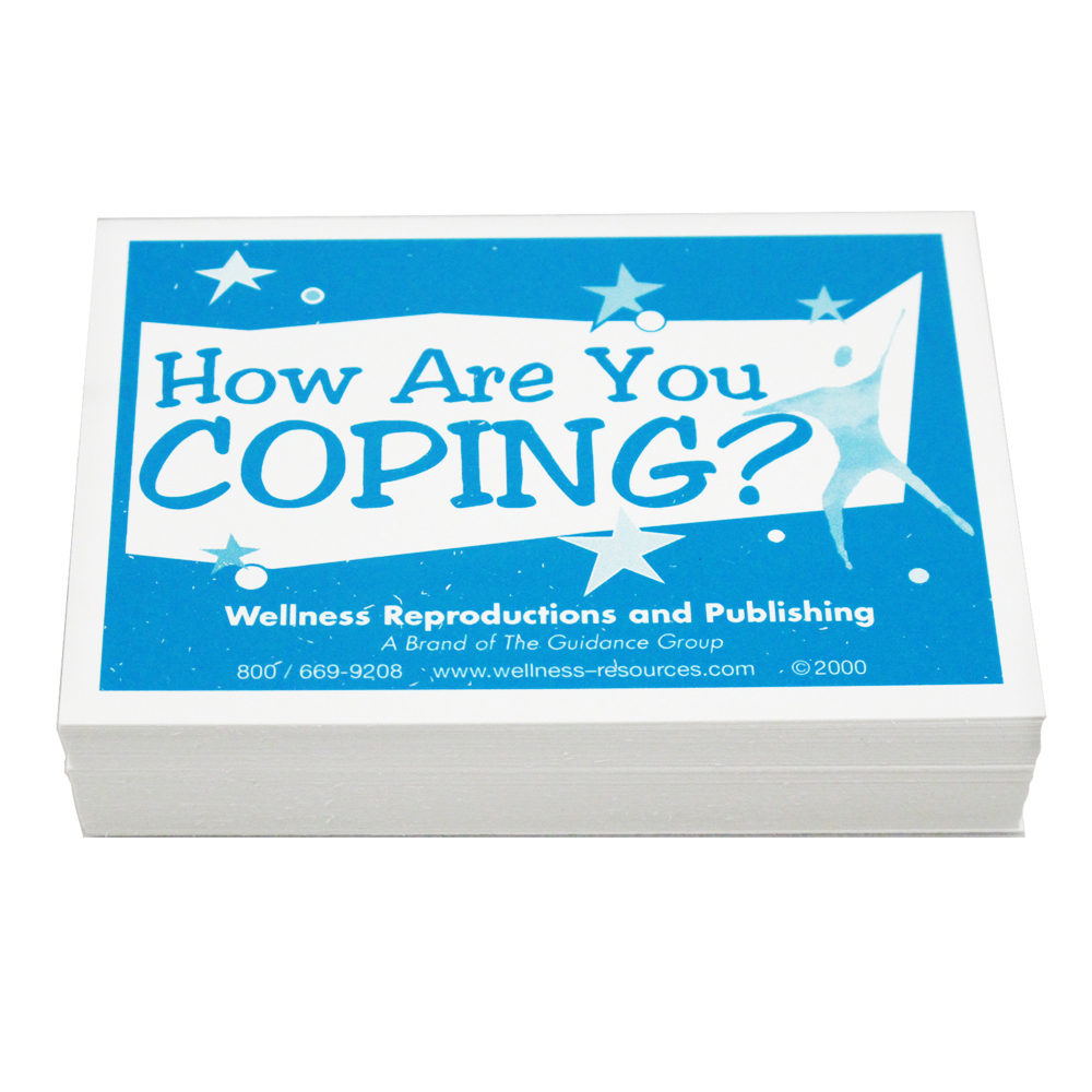 Coping Skills Group Cards