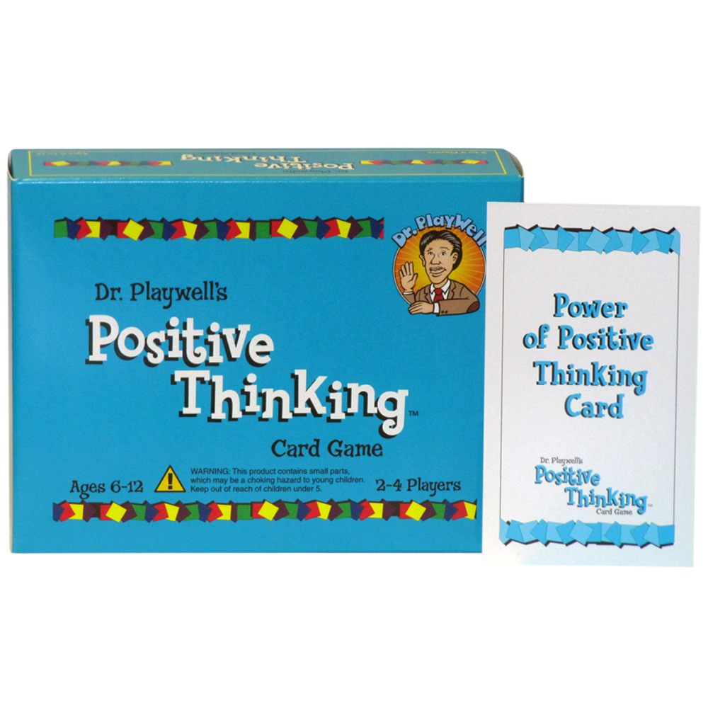 Dr. PlayWell's Positive Thinking Card Game: Revised Edition