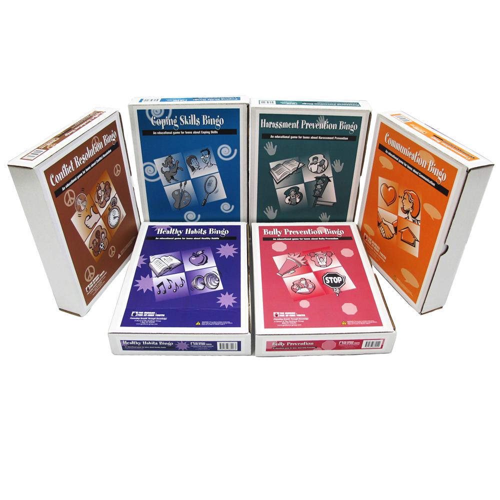 Middle School Bingo Games Series Set of 6