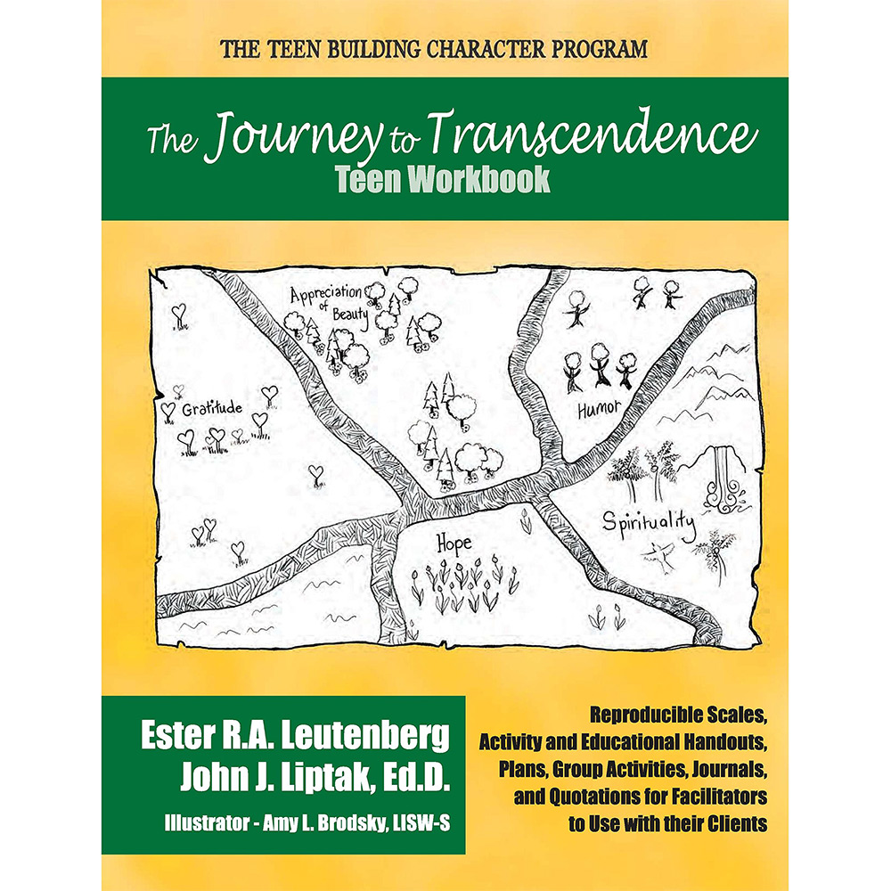 The Journey to Transcendence   Teen Workbook with CD