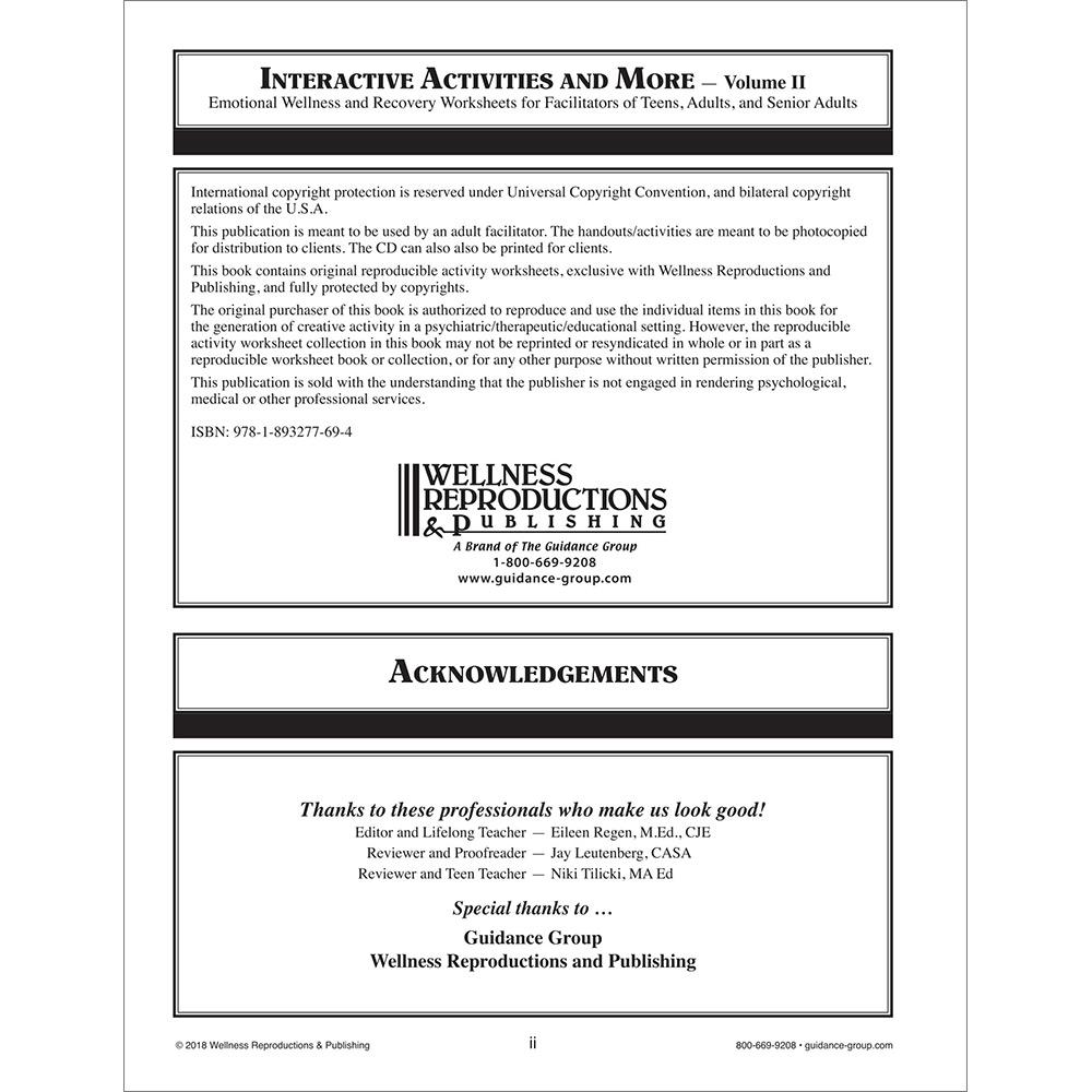 Interactive Activities & More ‐ Volume 2: Workbook with CD