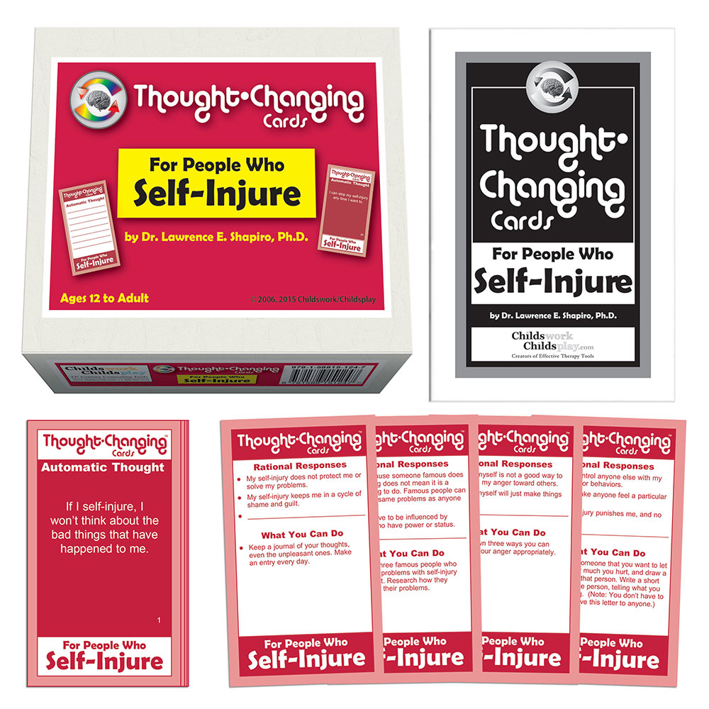 Thought Changing Card Kit for People Who Self Injure