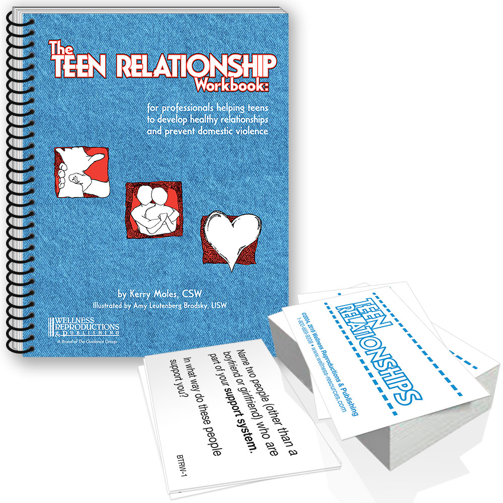 The Teen Relationship Workbook & Cards Set