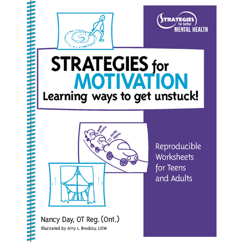 Strategies for Motivation: Learning Ways to Get Unstuck! Book with CD