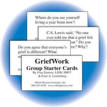 GriefWork Set  Card Game & Book