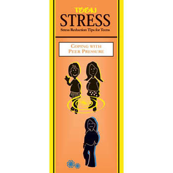 Teen Stress Pamphlet: Coping with Peer Pressure 25 pack