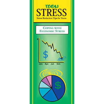Teen Stress Pamphlet: Coping with Economic Stress 25 pack
