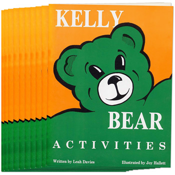 Kelly Bear Activities Book, Set of 10