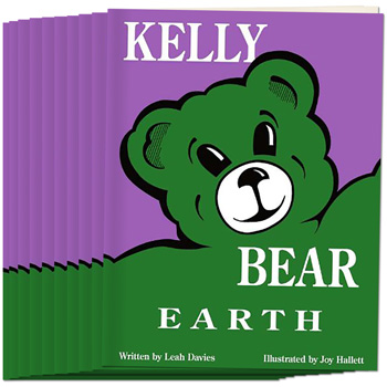 Kelly Bear Earth Book, Set of 10