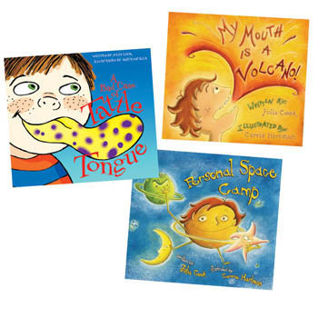 Julia Cook Books Set of 3